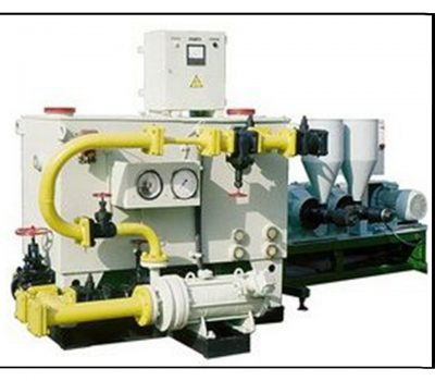 Unit for production of fuel mixtures with using the rape oil